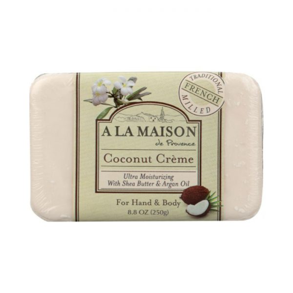 hand and body coconut bar soap