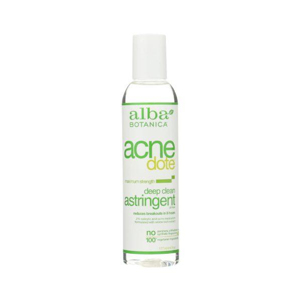 Deep clean acne