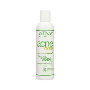 Pore wash