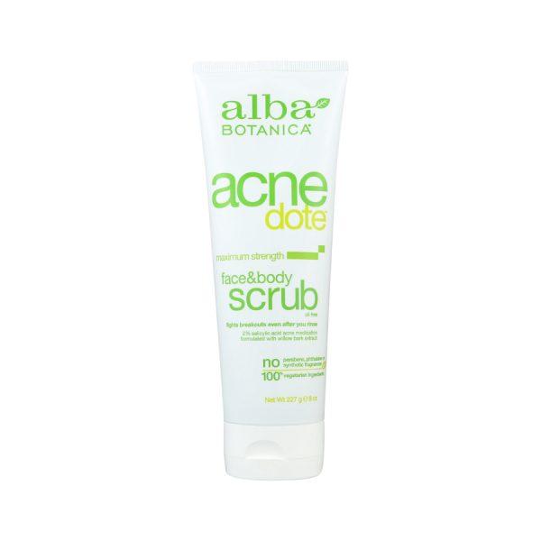 Acne dote body scrub