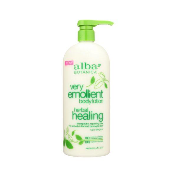 Herbal healing body lotion