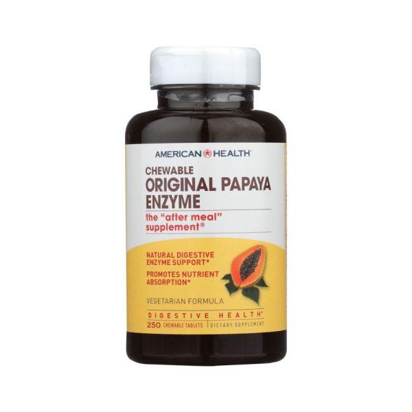 Papaya enzyme supplemement