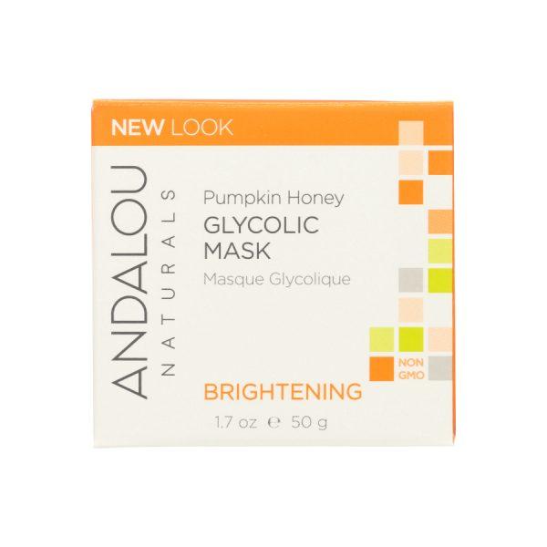Pumpkin honey face mask