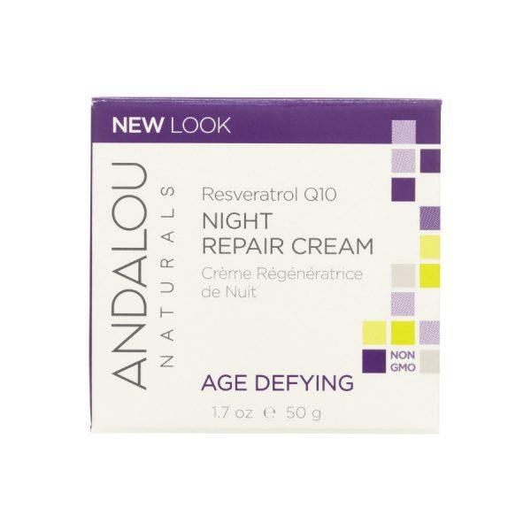 Age defying night cream