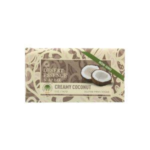 Creamy coconut soap bar